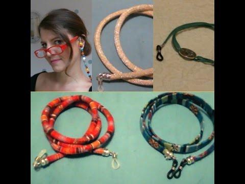 fdd1b6ed6c3 Como hacer cordones para gafas fácil. !!No las pierdas este verano!! -  YouTube