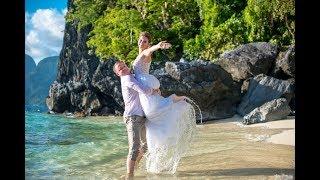 Свадьба за границей Свадьба на Филиппинах Ильшат и Дарья