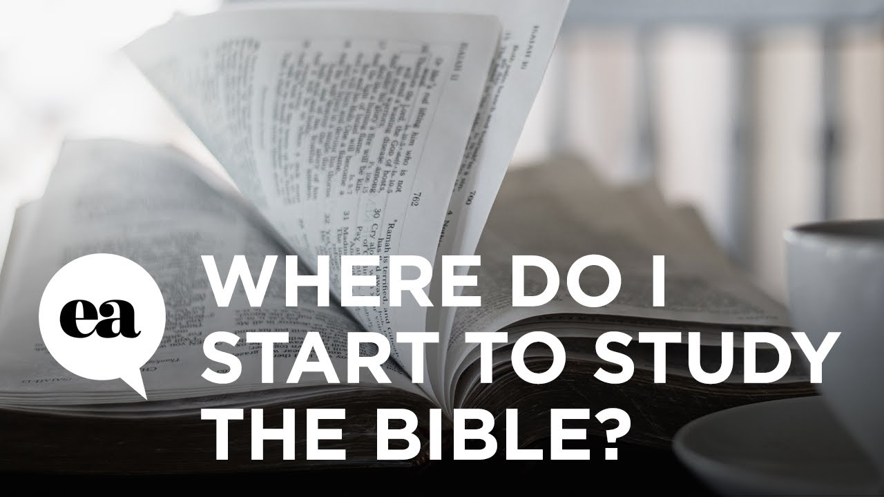 Where Do I Start to Study the Bible? | How to Study the Bible with Joyce Meyer