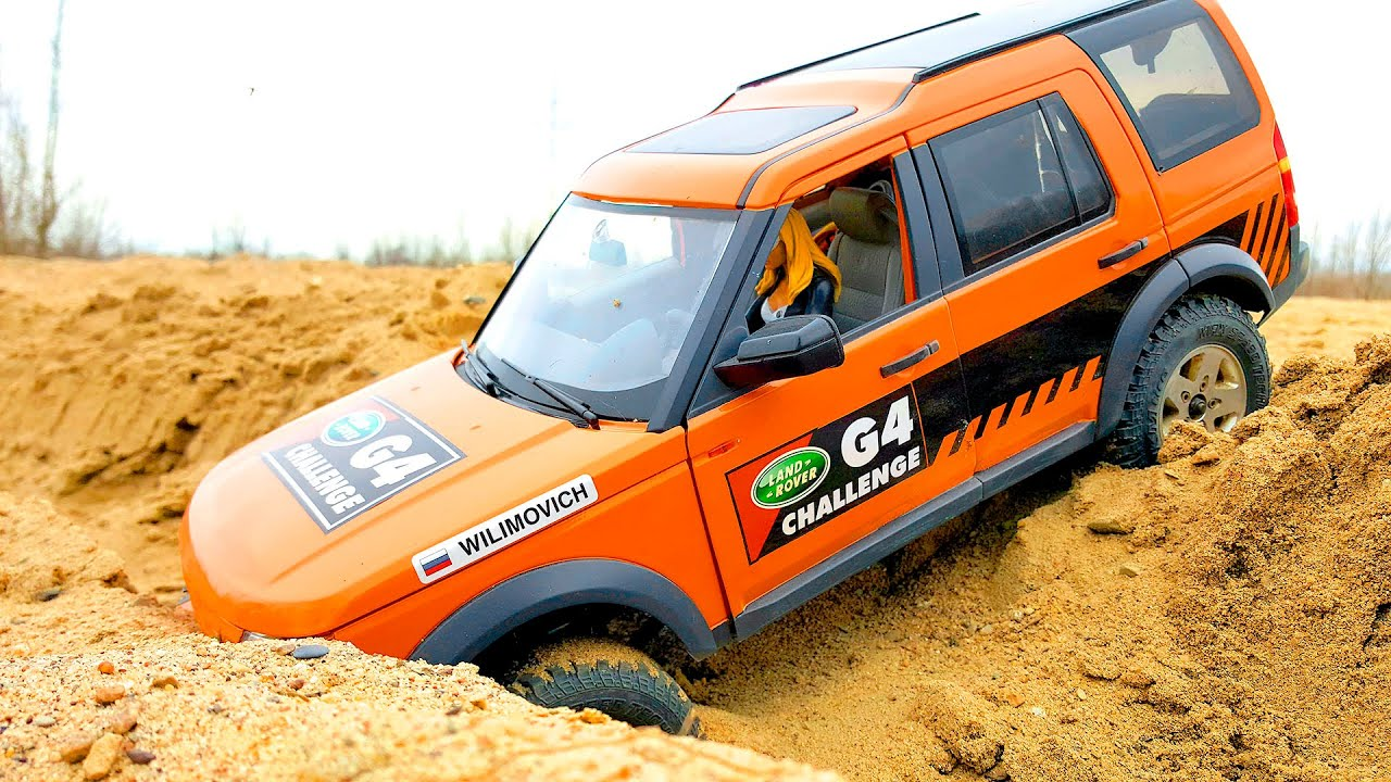 RC Cars 4x4 Sands Storm Racing – Land Rover Discovery and Defender 90