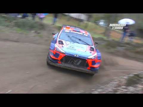 Ott Tänak Vs D. Sordo In Rally Fafe 2020 (Full Attack Testing New Aerodynamics) Full HD