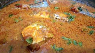 Mackerel fish curry recipe   fish gravy coconut recipe