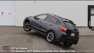 Diagonal AWD TEST: 2017 Subaru Crosstrek (XV) | Part 3/3
