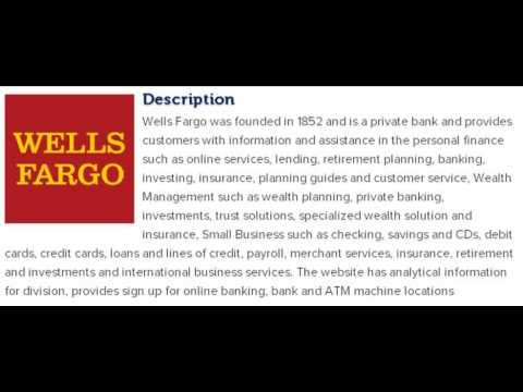 Wells Fargo Financial Inc­ Corporate Office Contact Information