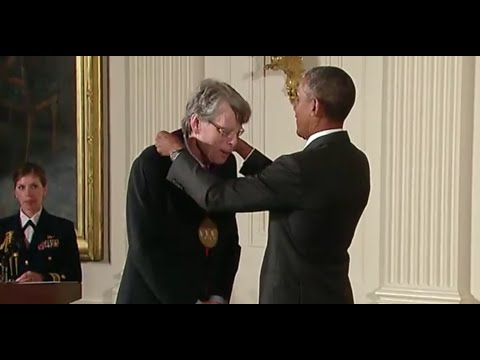 Steven King Honored With National Medal Of The Arts