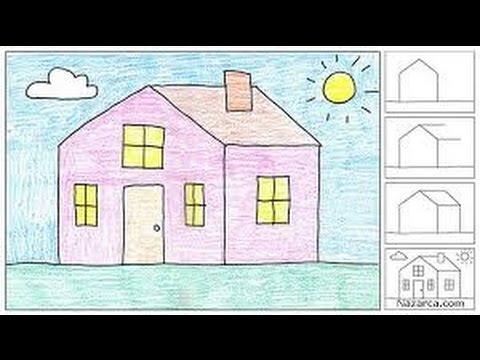 Paintle Ev Resmi çizmek Sesli Hd Youtube