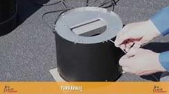 Kuinka asennat Draftbooster-savukaasuimurin