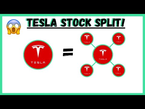 Tesla shares shoot up after announcement of five-for-one stock split ...