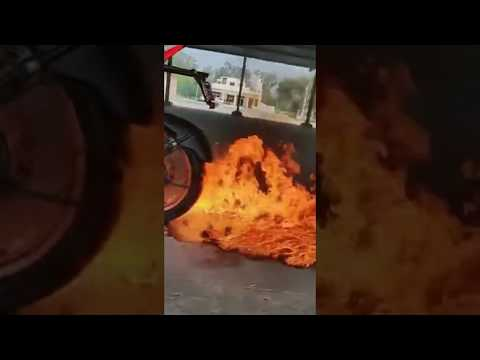 Latest Whatsapp Status Video #024   Bike Stunt   MNMIME Dr Banerjee