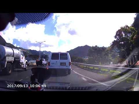 Oahu Hawaii September 2017 drive down to Kualoa Regional Park