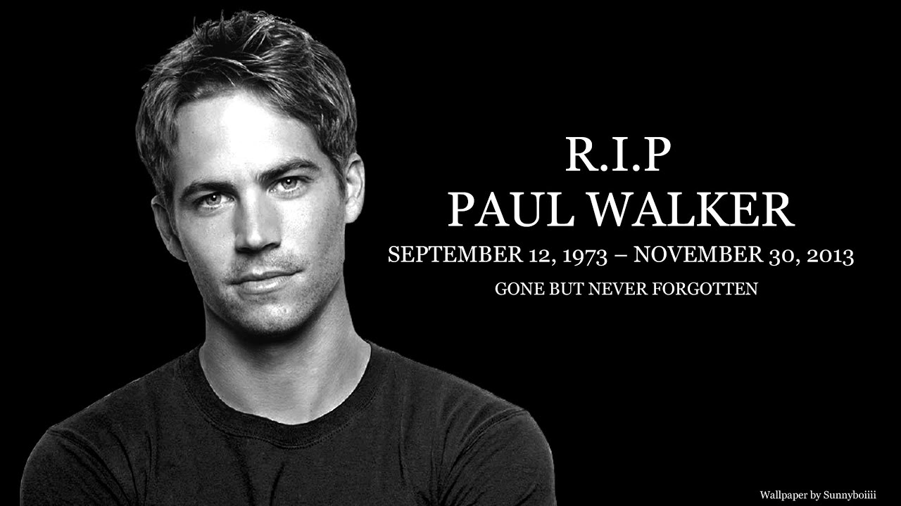 A Beautiful Tribute To Paul Walker From His Fast Family
