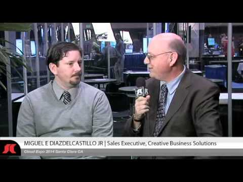 SYS-CON.tv Interview at 15th Cloud Expo | Miguel Diazdelcastillo,Creative Business Solutions