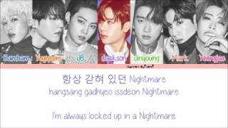 GOT7 - OUT Color Coded Lyrics (Han/Rom/Eng) MP3