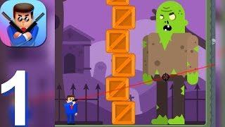 Mr Bullet - Gameplay Walkthrough Part 1 Chapter 1-5 (Android, iOS Gameplay) screenshot 2