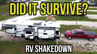 What's Wrong and Right with our new RV! Shakedown Trip!