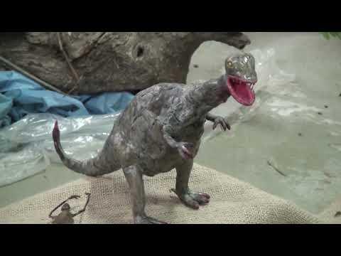 """Se lleva adelante una muestra sobre dinosaurios en el museo """"Malva Emparanza"""""""