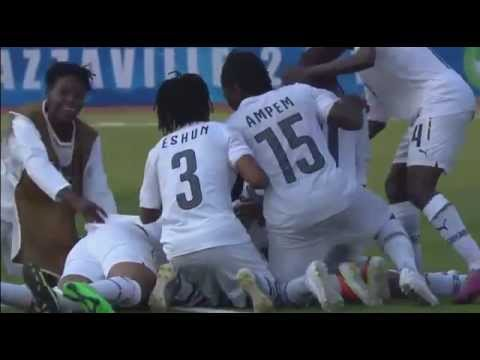 Ghana women defeat Cameroon to win gold at All African Games