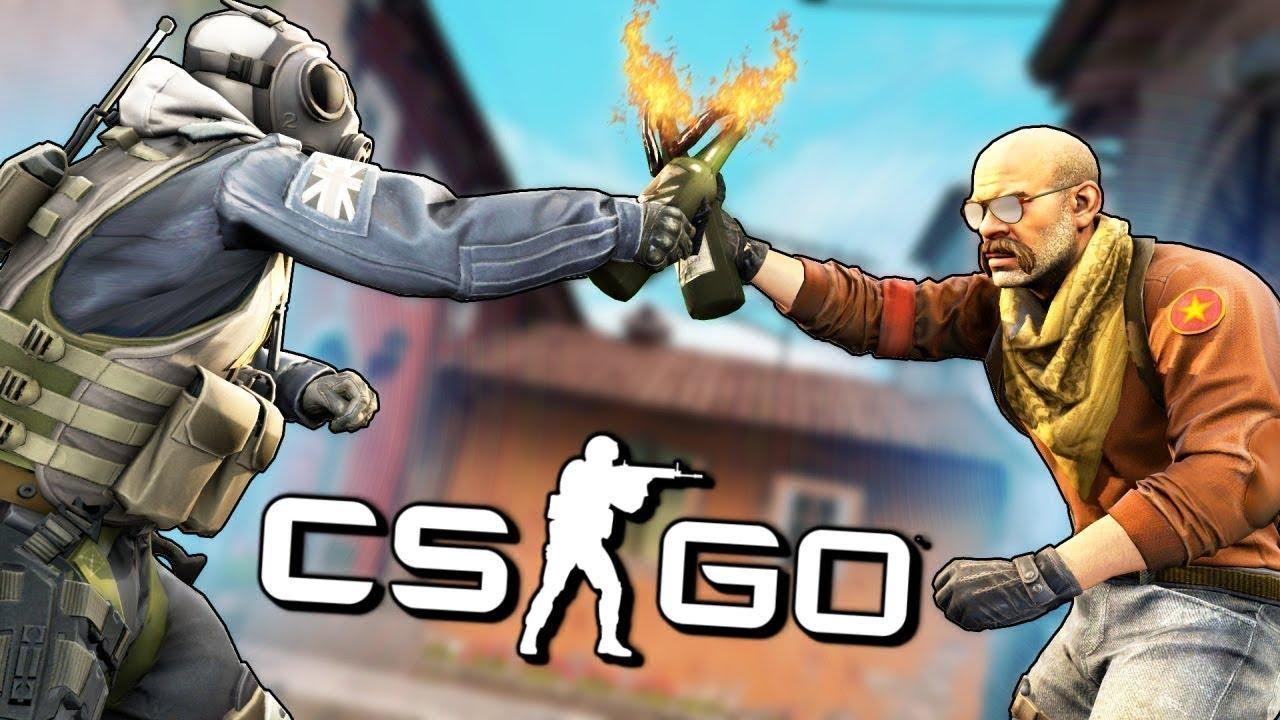 Играю в CS GO, с ботами.