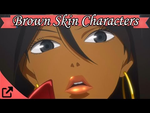 Top 20 Black Anime Characters (Also Brown)