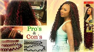 Xpression Crochet Hair Bohemian : Crochet Braids Tutorial How to Install and Style X-Pression Kinky ...