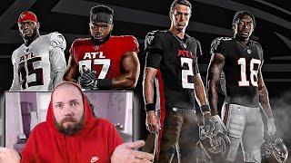 Atlanta Falcons Fan Reacts To New Falcons Uniforms