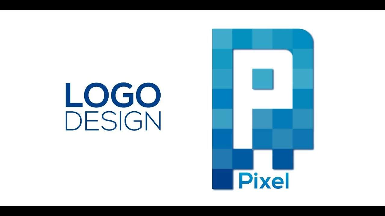 Professional Logo Design - Adobe Illustrator CS6 (Pixel) - YouTube