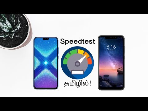Redmi Note 6 Pro Vs Honor 8x Ultimate Speedtest in Tamil!