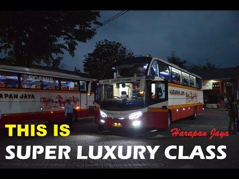Super Luxury Class Experience | #TripReport Harapan Jaya SLC Avante Scania K360i Opticruise