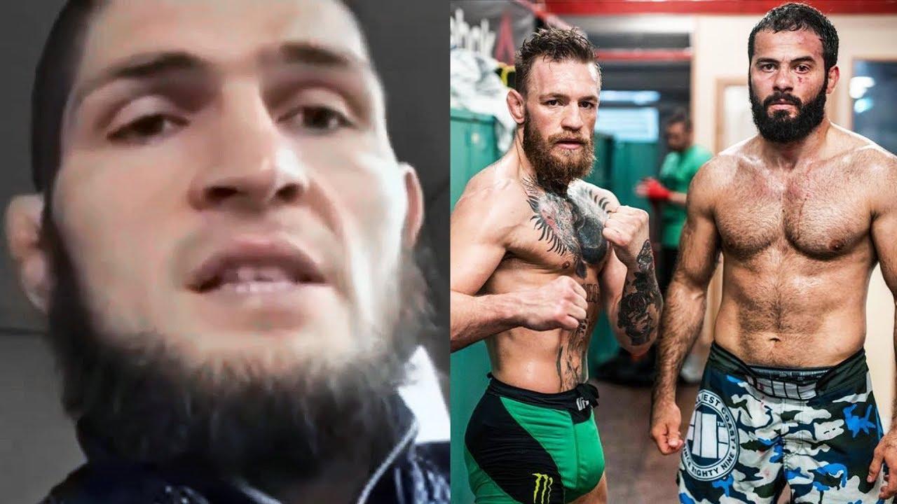 Чеченец ответил за Конора Макгрегора / Пресс-конференция с Хабибом Нурмагомедовым перед UFC 229