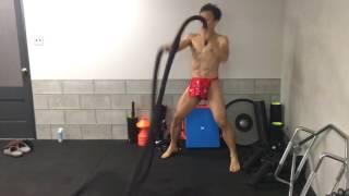 ギフト用オーダーふんどしに付いてくる、無料トレーニング体験の例 thumbnail