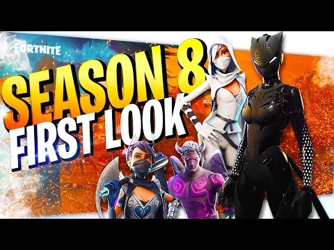 *LYNX OP* SEASON 8 FIRST LOOK | NEW HERO LOADOUT|  FORTNITE SAVE THE WORLD