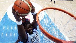 Baby Shaq shocks USA! | Greece v USA | FIBA World Cup 2006