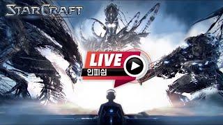 【 인피쉰 생방송 Live 】 빨무 스타 스타크래프트 빠른무한 팀플 (2020-10-28 수요일)
