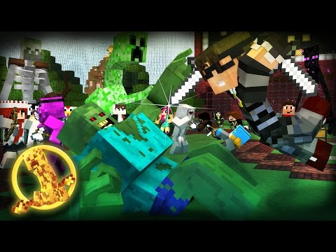 Minecraft MODDED Hunger Games : MUTANT CREATURES! /w Facecam