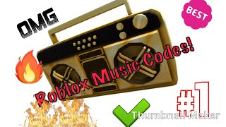 18 Most Popular Music Codes (ROBLOX)