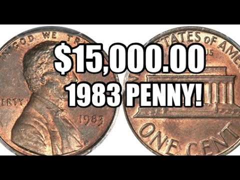 The $15,000.00 1983 Copper Lincoln Penny / Transitional Error Cent