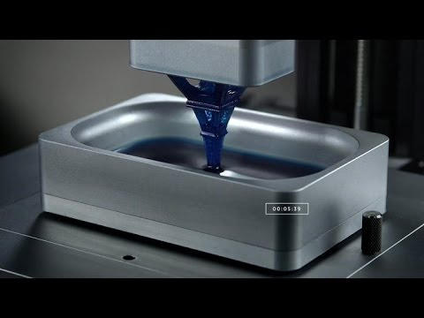 Crave - 3D-printed objects emerge from pool of photosensitive liquid, Ep. 196