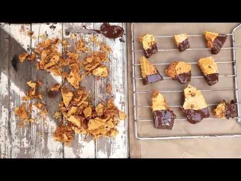 Honeycomb and Chocolate Crunchie