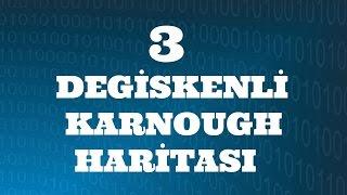 SAYISAL ELEKTRONİK DERSLERİ: Üç Değişkenli Karnaugh Haritası