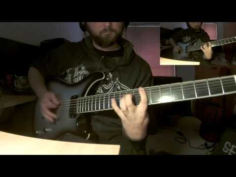 Amon Amarth - Back on Northern Shores - guitar cover