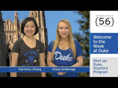 Duke, Stanford Athletes; Cell Phone Study: The Week at Duke {in 60 Seconds}
