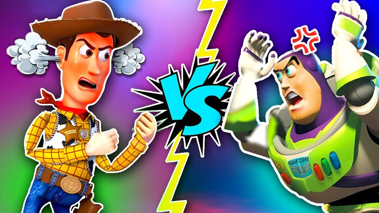 Woody Y Buzz Ya NO son AMIGOS! 😡😱 - Juguetes Fantásticos