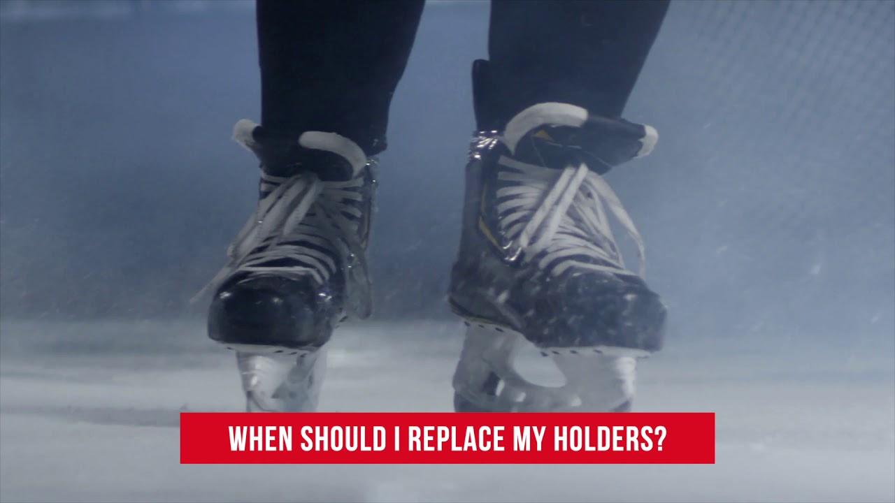 SkateWorks - Replacing Hockey Skate Holders