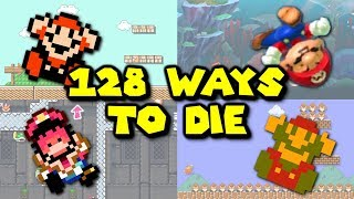 128 Ways to Die in Super Mario Maker