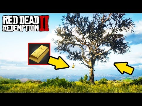 HIDDEN TREE OF GOLD! FAST MONEY IN RED DEAD REDEMPTION 2!