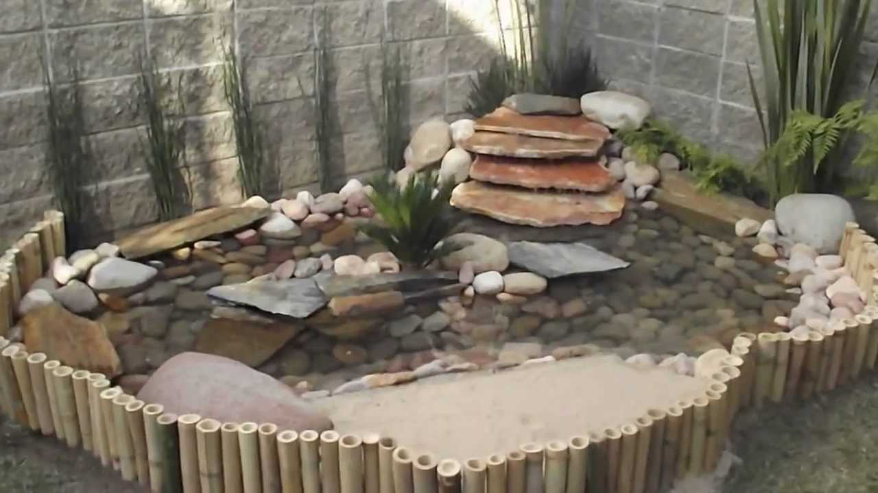 Lago tortuga vivero arte y jardin youtube for Como construir estanques para peces