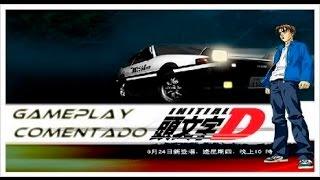 INITIAL D Extreme Stage - Anime/jogo de DRIFT