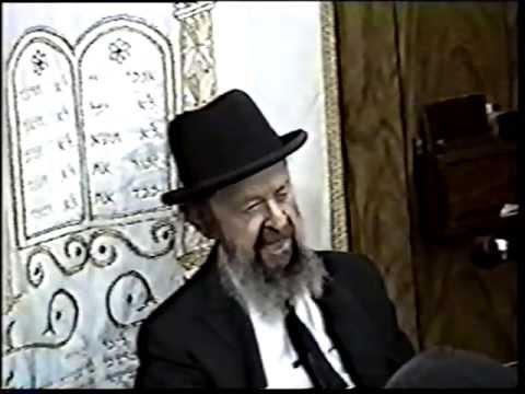 PART 1 - Rabbi Avigdor Miller - Thursday Night Shiur With Rabbi Miller - Hashem Loves His Loyal