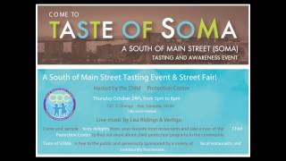 Taste of SoMA at CPC, October 24, 2013, from 5 to 8 p.m. = Clear Channel
