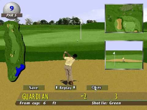 PGA European Tour (Intelligent Games) (MS-DOS) [1996]